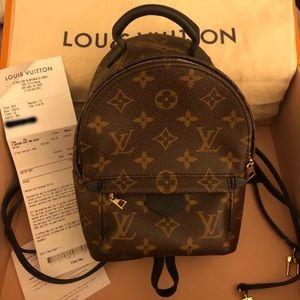 Louis Vuitton mini Palm spring backpack
